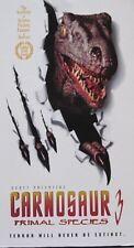 CARNOSAUR 3 -  VHS