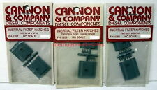 Cannon & Company~HO~FH-1357,1358,1360~Inertial Filter Hatches~EMD Diesels,GP&SD