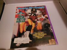 January 7 1985 Sports Illustrated Magazine 1/7/85 Pittsburgh Steelers Broncos