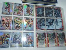 Cartes Dragon Ball Z Trading Card DBZ News Part 1 #Reg Set 45/45