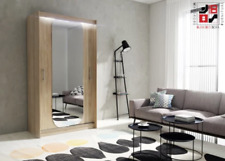 SLIDING DOORS WARDROBE with full length MIRROR very MODERN and HIGH QUALITY