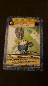 Gargomon DP-03 Digimon Collectible Card Game (CCG) 2001 Plastic