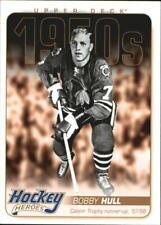 2011-12 Upper Deck Hockey Heroes #HH4 Bobby Hull - NM-MT