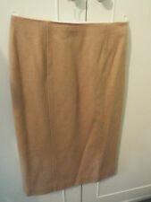 TALBOTS PURE CAMEL HAIR SKIRT - SIZE 6(US) - MADE IN ITALY