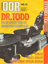 MAGAZINE OOR 1981 nr. 21 - GENESIS / POLICE / TODD RUNDGREN / SQUEEZE