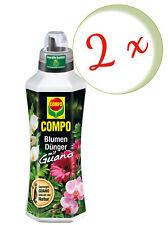 Sparset: 2 x COMPO Blumendünger mit Guano, 1 Liter