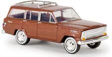Brekina H0 19854 Jeep Wagoneer Copper Metallic