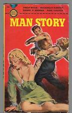 Man Story by Wylie, Mannix, Paul PB '50 Gold Medal 102 Free S/H