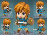 Nendoroid 733 The Legend of Zelda Breath of the Wild Ver Link Figurine Statue