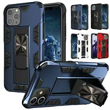For iPhone 12 Mini 11 Pro 6 6s 7 8 Plus XS Max XR X Case Kickstand Ring Cover