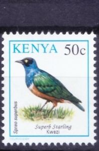 Superb Starling, Birds, Kenya 1993 MNH