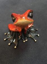 Tim Cotterill bronze frog sculpture Polly Wogg pollywogg BF49