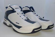 Men's Athletic Shoe Sneaker Starter Grande White & Blue Size 12 EUR 46.5 MEX 31