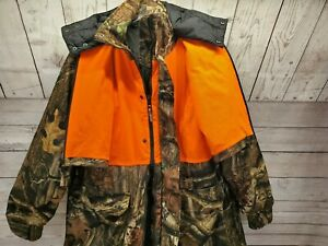 Realtree Bushmaster Parka Built in Vest Insulated Camo Hunting Removable Liner