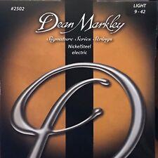 Dean Markley 2502 Signature Series NickelSteel Electric Guitar Strings Light