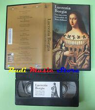 VHS film LUCREZIA BORGIA Una intervista impossibile Maria Bellonci (F150) no dvd