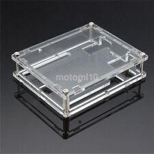 New Clear Case Holder Enclosure Acrylic Protective Box for Board Arduino UNO R3