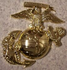 Military Plaque U S Marine Corps metal NEW wall or shadow box mount