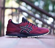 ASICS GEL LYTE V 5 HN6A4 2890 POMEGRANATE RED BLACK SIZE 7.5 US 100% AUTHENTIC