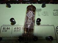 Röhre Telefunken EL 84 Tube 32 mA Valve auf Funke W19 geprüft BL-1848