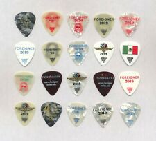 Foreigner - Set of (20) Bruce Watson Guitar Picks  Various Years
