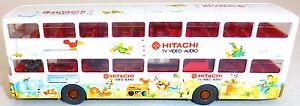 HITACHI TV VIDEO AUDIO Werbebus Druck aus MAN SD 200 WIKING BUS H0 1:87 å GD4 *