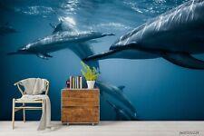 New Listing3D Sea Shark Wallpaper Wall Murals Removable Wallpaper 276