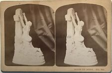 Artistic Stereoscopic Gems F. G. Weller Rock of Ages USA Vintage Albumine