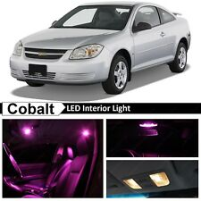 7x Pink Interior LED Lights Replacement Package Kit for 2005-2010 Chevy Cobalt
