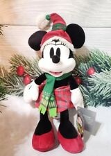 Disney Parks Minnie Mouse Nordic Winter Christmas 2018 11 inch Plush