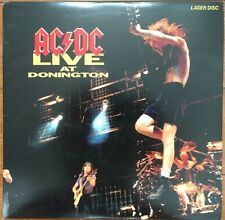 AC/DC Laserdisc Live 1991 Concert at Donington LD