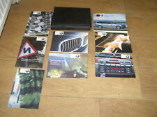 BMW 3 SERIES TOURING E46 OWNERS MANUAL HANDBOOK PACK 1997 - 2006