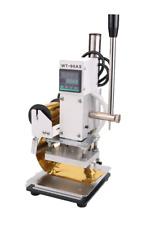 Digital Hot Foil Stamping Machine 8 x 10CM Bronzing Logo Machine Tipper Stamper