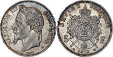 France: 5 Francs silver 1870 A (Paris mint) - VF-XF