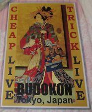 Cheap Trick 1978 Live At Budokan Replica Concert Poster