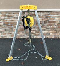 Gemtor RS3-50 Man Hole Lift Man Retrieval Winch 50' 310 LBS