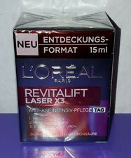 L'ORÉAL Paris Revitalift Laser X3 Anti-Age Intensiv-Pflege Tag 15 ml NEU & OVP