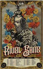 RIVAL SONS - US Tour Music Concert Poster Art