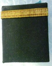Vintage 1 Straight Bars Shoulder Board Rank Custom Pilot Captain Epaulette- USED