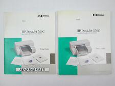 HP DeskJet 550C User's Guide and Setup Guide 1993 Hewlett Packard
