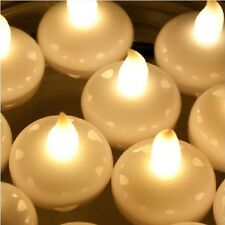 Floating CANDEL TEA Table Decoration Lights WARM WHITE x 10