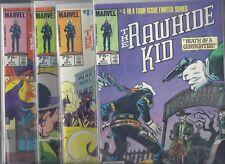 "Rawhide Kid #1,#2,#3,#4 Complete Mini-Series Set 1985 "" NEWSTAND COPIES !!"" NM/M"