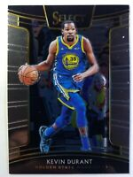 2018-19 Panini Select Kevin Durant #31, Golden State Warriors
