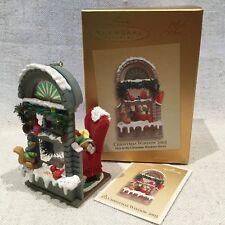 2003 Hallmark Signed by Artist #1 Christmas Window KOC Ornament Memory Card MINT
