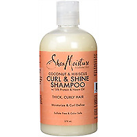 Shea Moisture Curl & Shine Shampoo Coconut & Hibiscus 379ml