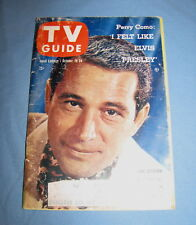 VINTAGE TV GUIDE OCTOBER 18 1958 PERRY COMO ANN SOTHERN JOHN DALY