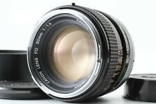 CANON FD 50mm F/1.4 W/ HOOD BS-55 MF FIXED/PRIME STANDERED LENS  FROM JAPAN