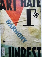 Billy Childish Art Hate Harmony in Unrest limited edition Giclee