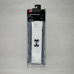 Under Armour UA Performance White Headband Unisex All Sport