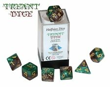 Halfsies Dice - Treant - 7 Polyhedral Dice Set - for D&D & RPGs - Kickstarter